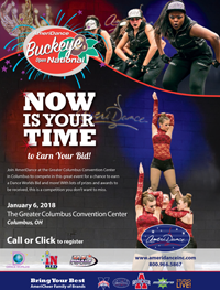 Buckeye Dance Open National flyer